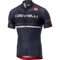 Castelli AR 4.1 Koszulka rowerowa oddychająca czarno szara 2019