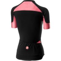 Castelli Scheggia 2 Koszulka rowerowa damska czarno różowa 2019