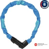 Abus Tresor 1385 75cm Zapięcie do roweru łańcuch na szyfr blue