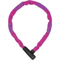 Abus Steel O Chain 5805K Zapięcie rowerowe łańcuch z zamkiem 75cm różowy