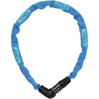 Abus Steel O Chain 5805C Zapięcie rowerowe łańcuch na szyfr 75cm niebieski