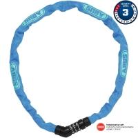 Abus Steel O Chain 4804C Zapięcie rowerowe łańcuch na szyfr 75cm niebieski