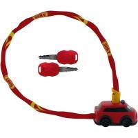 Abus My first Abus 1510 Fire Department Zapięcie rowerowe łańcuch z zamkiem 60cm czerwone