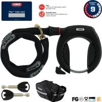 Abus Pro Shield Plus 5950 Blokada tylnego koła z łańcuchem 85cm i sakwą