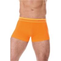 Brubeck Active Wool Bokserki męskie pomarańczowe