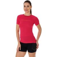 Brubeck 3D Run PRO Koszulka damska z krótkim rękawem malinowa