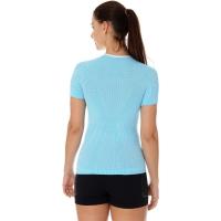 Brubeck 3D Run PRO Koszulka damska z krótkim rękawem błękitna