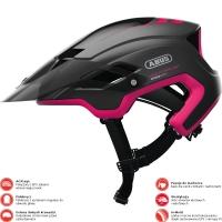 Abus MonTrailer Kask rowerowy damski MTB fuchsia pink
