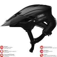 Abus MonTrailer Kask rowerowy MTB velvet black
