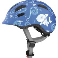 Abus Smiley 2.0 Kask rowerowy dziecięcy blue sharky