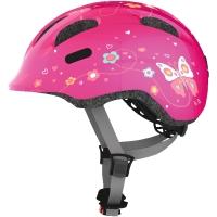 Abus Smiley 2.0 Kask rowerowy dziecięcy pink butterfly