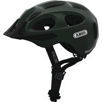 Abus Youn I ACE Kask rowerowy miejski metallic green