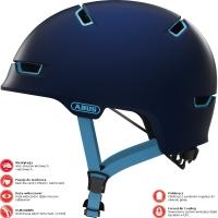 Abus Scraper 3.0 Ace Kask rowerowy miejski ultra blue