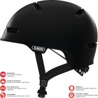 Abus Scraper 3.0 Ace Kask rowerowy miejski velvet black