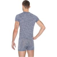 Brubeck Fusion Komplet koszulka męska + bokserki jeansowe