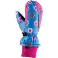 Viking Kids Digi Rękawice narciarskie dziecięce różowe donuty