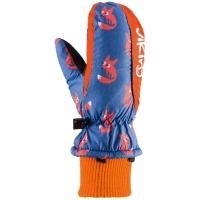 Viking Kids Digi Rękawice narciarskie dziecięce pomarańczowe liski