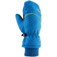 Viking Kids Rimi Mitten Rękawice narciarskie młodzieżowe niebieskie z żółtym