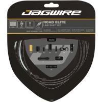 Jagwire Road Elite Link Zestaw linek i pancerzy przerzutki szosa czarny