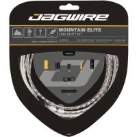 Jagwire Mountain Elite Link Shift Zestaw linek i pancerzy przerzutki MTB Shimano / Sram srebrny