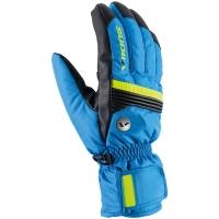 Viking Ski Man Livio Rękawice narciarskie męskie niebiesko czarno żółte