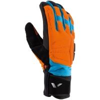 Viking Snowboard Megeve Rękawice narciarskie męskie czarno pomarańczowo niebieskie