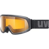 Uvex Splash Gogle narciarskie black z szybą goldlite 2019