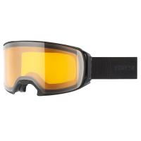 Uvex Craxx LGL Gogle narciarskie black mat lasergold lite