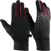 Viking Orton Rękawice wielofunkcyjne unisex czarno czerwone