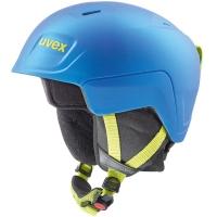 Uvex Manic Pro Kask narciarski snowboard junior blue lime mat 51-55cm 2019