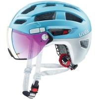 Uvex Finale Visor Kask rowerowy miejski strato cool blue