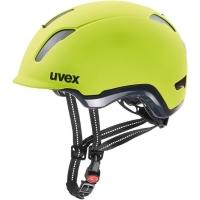 Uvex City 9 Kask rowerowy miejski neon yellow
