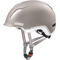 Uvex City 9 Kask rowerowy miejski warm grey