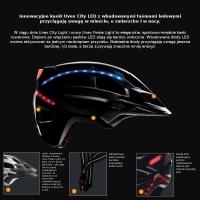 Uvex Finale Light Kask rowerowy miejski black
