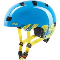 Uvex Kid 3 Kask rowerowy dziecięcy blackout blue