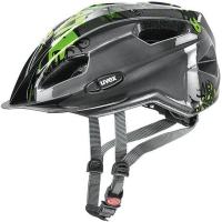 Uvex Quatro Junior Kask rowerowy dziecięcy anthracite green