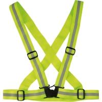 Wowow Cross Belt Pas bezpieczeństwa odblaskowy żółty
