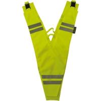 Wowow Kołnierz bezpieczeństwa odblaskowy żółty