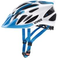 Uvex Flash Kask rowerowy MTB blue white