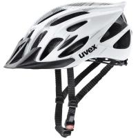 Uvex Flash Kask rowerowy MTB black white