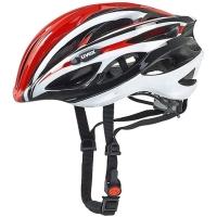 Uvex Race 1 Kask rowerowy szosowy red white