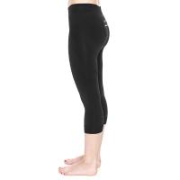 Brubeck Running Force Spodnie 3/4 do biegania damskie czarne