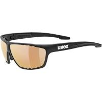 Uvex Sportstyle 706 Colorvision VM Okulary rowerowe black mat litemirror red