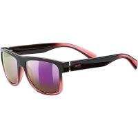 Uvex LGL 21 Okulary przeciwsłoneczne black rose mirror pink