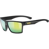 Uvex LGL 29 Okulary przeciwsłoneczne black mat mirror yellow