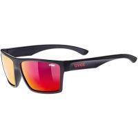 Uvex LGL 29 Okulary przeciwsłoneczne black mat mirror red