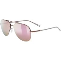 Uvex LGL 40 Okulary przeciwsłoneczne purple mat mirror pink