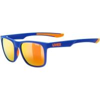 Uvex LGL 42 Okulary przeciwsłoneczne blue orange mat mirror red