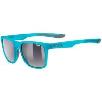 Uvex LGL 42 Okulary przeciwsłoneczne blue grey mat smoke ombre