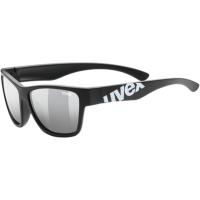 Uvex Sportstyle 508 Okulary przeciwsłoneczne dla dzieci black mat litemirror silver